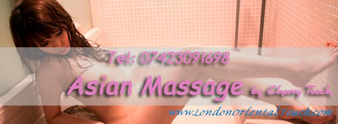 Korean Massage girl cherry touch