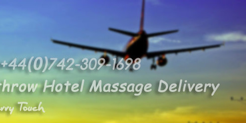 Massage service for Heathrow airport